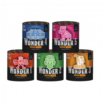 WCKD WONDER (pakket 5 cakes x 10 schoten) *SUPERACTIE!*