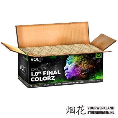 1.0'' Final Colorz Box