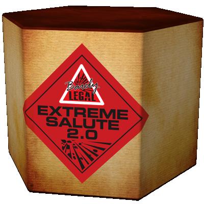 Extreme Salute 2.0 (6stuks)