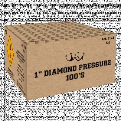 "1"" Diamond Pressure 100'S"