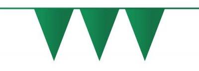 donker groen vlaggenlijn