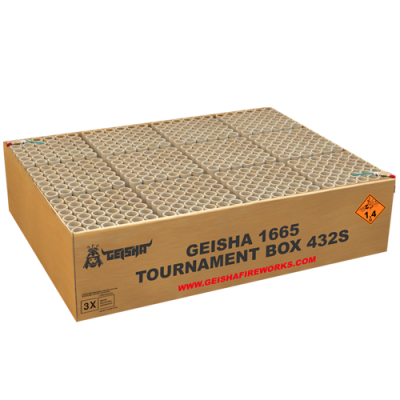 TOURNAMENT BOX 432 schots