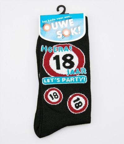 18 lets party sokken