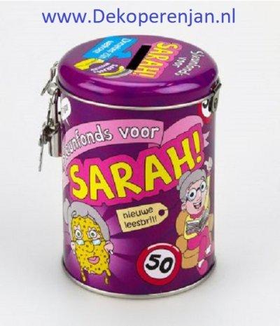 spaarpot sarah