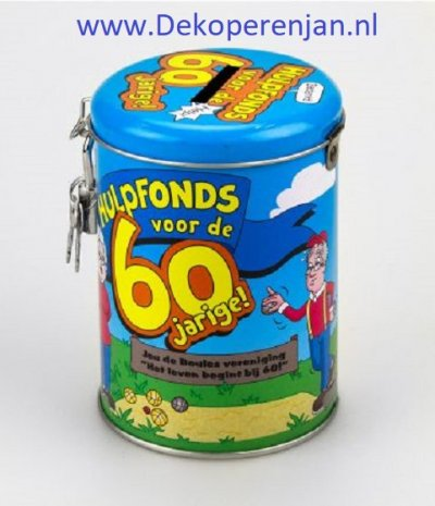 spaarpot 60 jarige