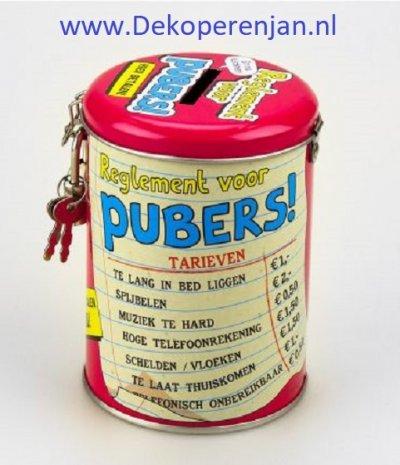 spaarpot pubers