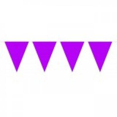 Vlaggenlijn paarse 10 meter
