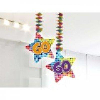 Hangdecoratie Birthday Blocks 60 /2