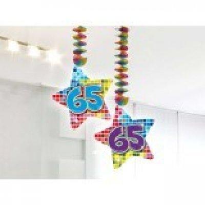 Hangdecoratie Birthday Blocks 65 /2