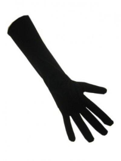Zwarte piet handschoen L