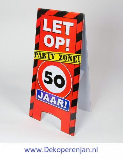 warning signs 50 Jaar