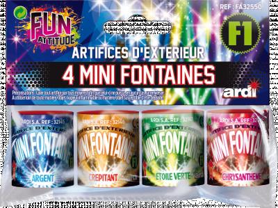 4 MINI Fontaines