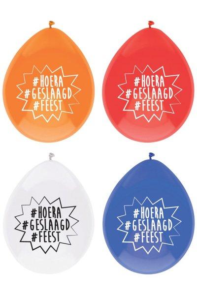 ballonnen geslaagd per 8