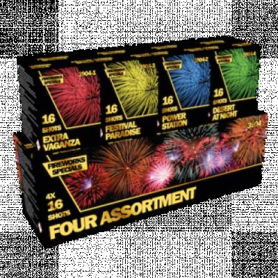 4x16 Four assortiment