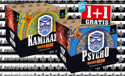 Psycho & Kamikaze - 2 voor 1