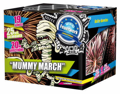 Mummy March              3 st. voor 17,99 !!!