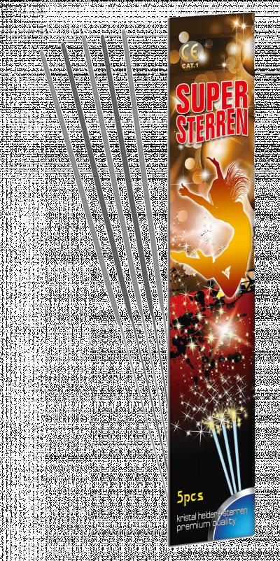 Super Sterren (25 cm)