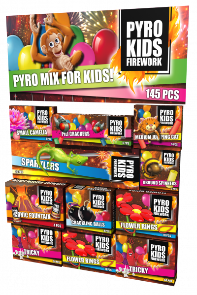 Pyro Kids Fun Pakket