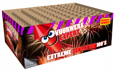 EXTREME ZENSATION 100 schoten *OUTLET!*