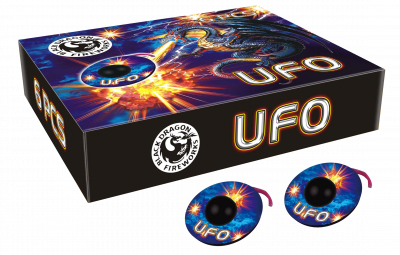 UFO 6 stuks