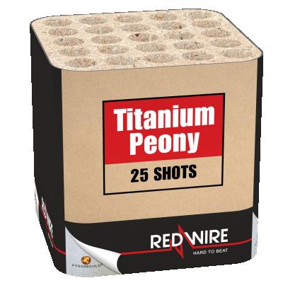 Titanium peony