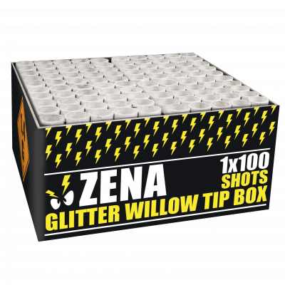 Zena glitter willow tip box