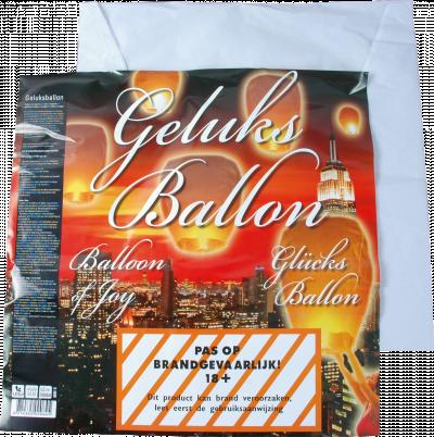 Geluksballon / Wensballon