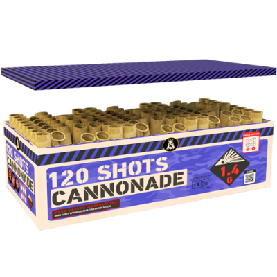 Cannonade 120's Compound Box
