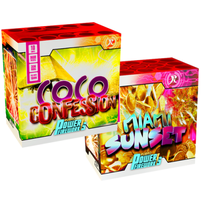 Miami Sunset & Coco Confession 1 + 1 gratis