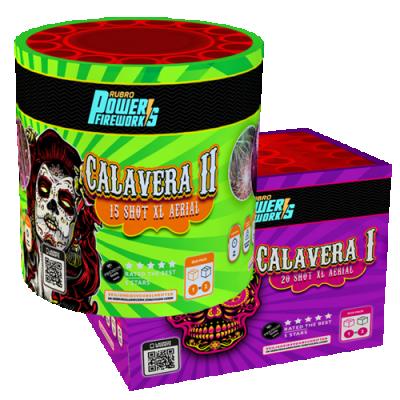 Calavera I & Calavera II (2 cakes)