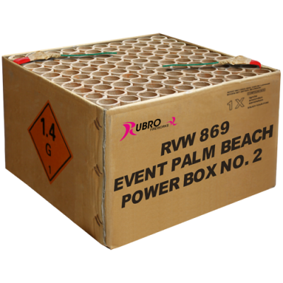 Event Palm Beach Power Box No. 2 - 100's (compound) New