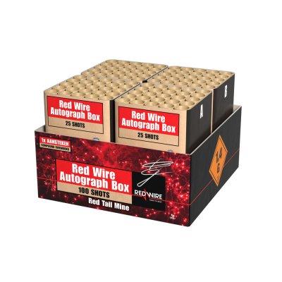 Red Wire Autograph Box Compound