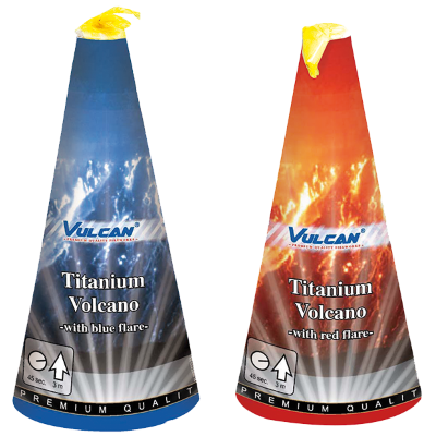 Vulcan Titanium Volcano
