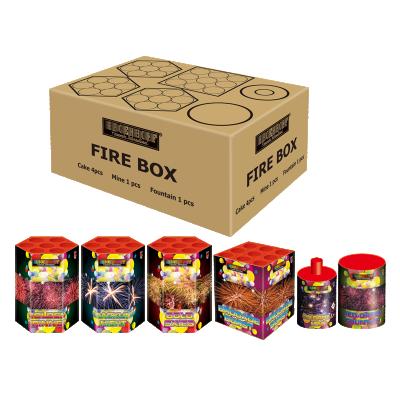 FIRE BOX 6-delig pakket