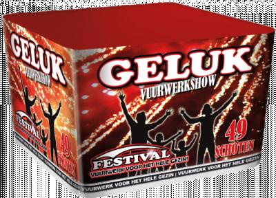 Festival Geluk Familie vuurwerk