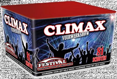 Festival Climax Familie vuurwerk