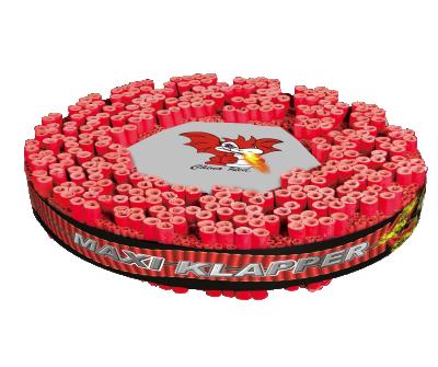 China Red maxi Klapper 52 cm