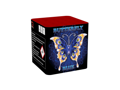 Butterfly Blue and Gold