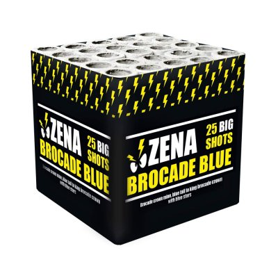 Zena Brocade Blue