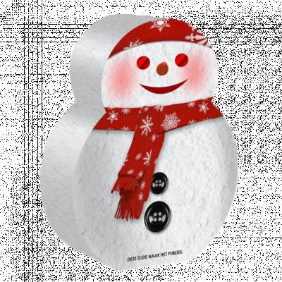 Snowman Fontein_