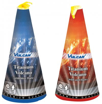 Titanium Vulkanen | 2 stuks
