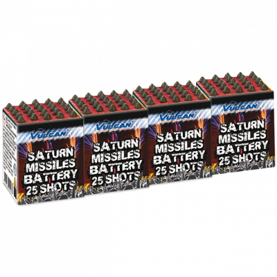 Saturn missiles 4x25sh