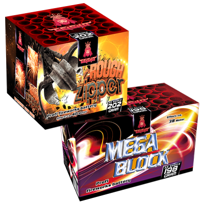Mega Block & Rough Zipper
