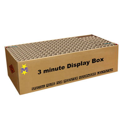 3 Minute Display Box