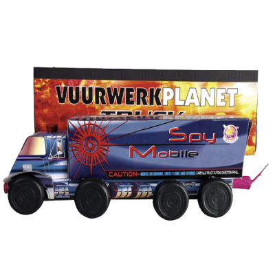 Vuurwerkplanet Truck