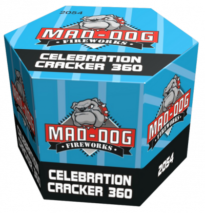 Celebration Cracker 360 shots