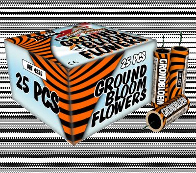 Grondbloemen 25st