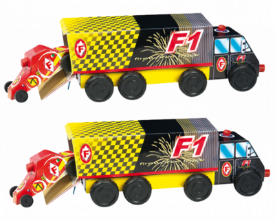 F1 Truck 1+1 gratis