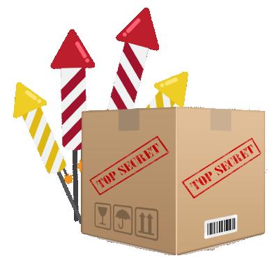 Top Secret BOX Siervuurwerk XXL + pijlenpakket *