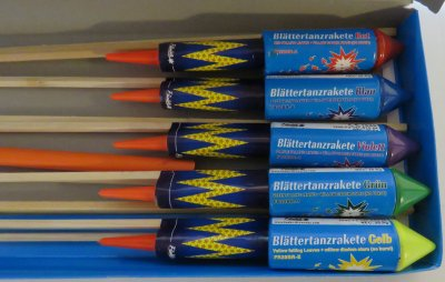 Blattertanz Raketen (10 st)